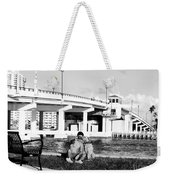 Man's Best Friend Weekender Tote Bag