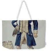 Man's Uniforms Weekender Tote Bag