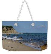 Mansion Beach, Block Island Weekender Tote Bag