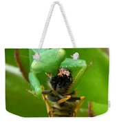 Mantis Munchies Weekender Tote Bag
