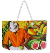 Manuel The Caribbean Fruit Vendor  Weekender Tote Bag
