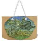 Manx Cat Weekender Tote Bag