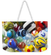 Many Beautiful Marbles Weekender Tote Bag by Garry Gay