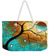 Many Moons Ago By Madart Weekender Tote Bag
