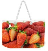 Many Strawberry Weekender Tote Bag