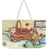 Map: Barbados, C1770 Weekender Tote Bag