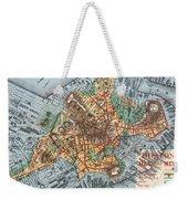 Map: Boston, C1880 Weekender Tote Bag