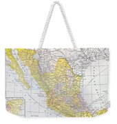 Map: Mexico Weekender Tote Bag
