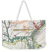 Map: North America, 1742 Weekender Tote Bag
