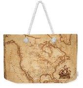 Map Of America 1800 Weekender Tote Bag