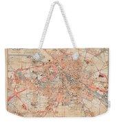 Map Of Berlin 1895 Weekender Tote Bag