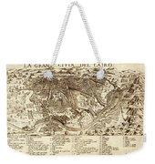 Map Of Cairo 1575 Weekender Tote Bag