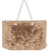 Map Of Cairo 1600 Weekender Tote Bag