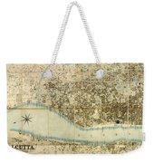 Map Of Calcutta 1857 Weekender Tote Bag