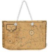 Map Of Cape Cod 1931 Weekender Tote Bag