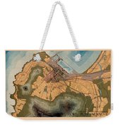 Map Of Cape Town 1947 Weekender Tote Bag