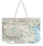 Map Of China 2 Weekender Tote Bag