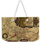 Map Of Cremona 1579 Weekender Tote Bag
