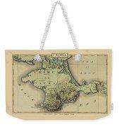 Map Of Crimea 1815 Weekender Tote Bag