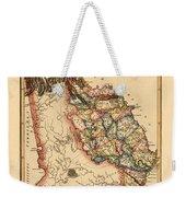 Map Of Georgia 1817 Weekender Tote Bag