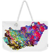 Map Of Hungary-colorful Weekender Tote Bag
