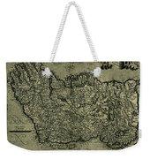 Map Of Ireland 1771 Weekender Tote Bag