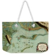 Map Of Jamaica 1756 Weekender Tote Bag