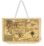 Map Of Newfoundland 1625 Weekender Tote Bag