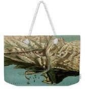 Map Of Panama Canal 1881 Weekender Tote Bag