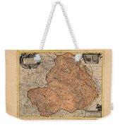 Map Of Rheims 1636 Weekender Tote Bag