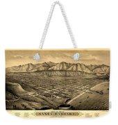 Map Of Santa Barbara 1877 Weekender Tote Bag