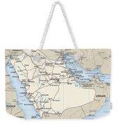 Map Of Saudi Arabia 2 Weekender Tote Bag