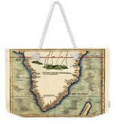 Map Of South Africa 1513 Weekender Tote Bag