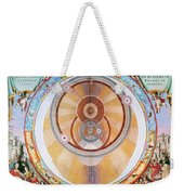 Map Of The Universe, 1660 Weekender Tote Bag