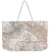 Map: Panama, 1907 Weekender Tote Bag