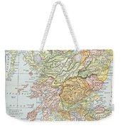 Map: Scotland Weekender Tote Bag