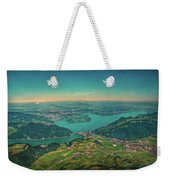 Map View Weekender Tote Bag