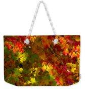 Maple Abstract Weekender Tote Bag