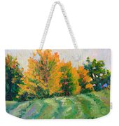 Maple Grove Weekender Tote Bag