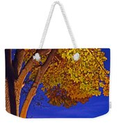 Maple In The Night Weekender Tote Bag