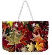 Maple Leaf Colors Weekender Tote Bag