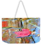 I Am Here In The Changing Waters Weekender Tote Bag
