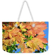 Maple Mania 1 Weekender Tote Bag