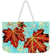 Maple Mania 13 Weekender Tote Bag