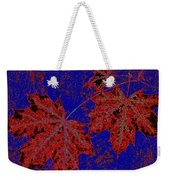 Maple Mania 15 Weekender Tote Bag
