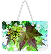 Maple Mania 24 Weekender Tote Bag