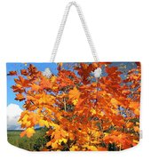 Maple Mania 8 Weekender Tote Bag