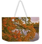 Maple Over The River Weekender Tote Bag