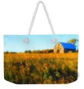 Maple Ridge Fall Barn Weekender Tote Bag