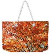 Maple Tree Foliage Weekender Tote Bag